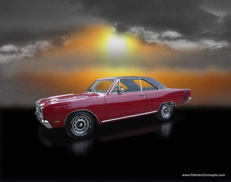 Dodge Dart on Copyright Palmieri Concepts P359 1969 Dodge Dart Gt Sport Sunrise